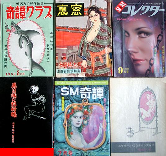 Libros y revistas de SM nipón